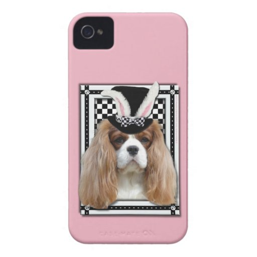 Pascua - algún conejito le ama - Blenheim arrogant iPhone 4 Case-Mate Coberturas