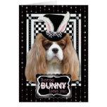 Pascua - algún conejito le ama - Blenheim Tarjeta De Felicitación