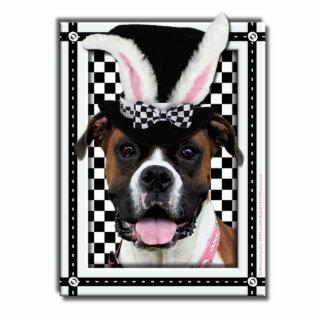 Pascua - algún conejito le ama - boxeador fotoescultura vertical