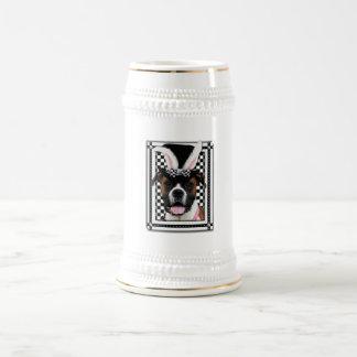 Pascua - algún conejito le ama - boxeador tazas de café
