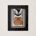 Pascua - algún conejito le ama - Bruselas Griffon Puzzle
