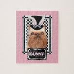 Pascua - algún conejito le ama - Bruselas Griffon Puzzle Con Fotos