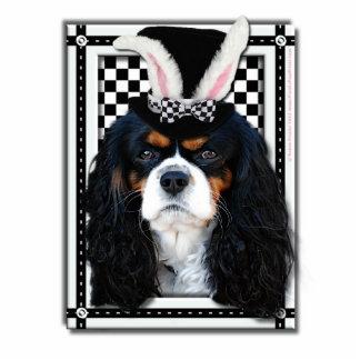Pascua - algún conejito le ama - caballeros fotoescultura vertical