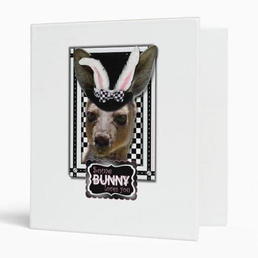 Pascua - algún conejito le ama - canguro