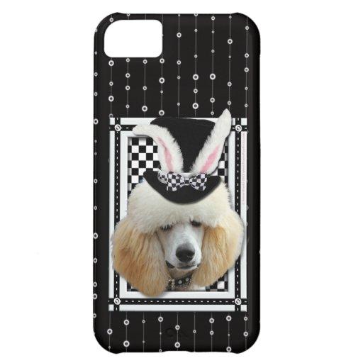 Pascua - algún conejito le ama - caniche - albaric funda para iPhone 5C