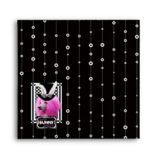 Pascua - algún conejito le ama - caniche - rosa sobres