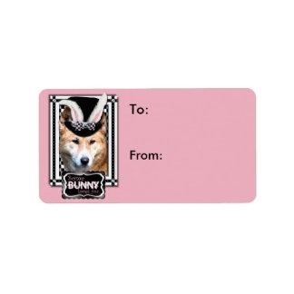 Pascua - algún conejito le ama - Dingo Etiquetas De Dirección
