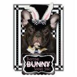 Pascua - algún conejito le ama - dogo francés esculturas fotograficas