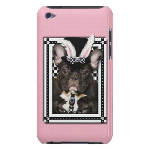 Pascua - algún conejito le ama - dogo francés Case-Mate iPod touch cárcasas