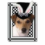 Pascua - algún conejito le ama - Jack Russell Esculturas Fotograficas