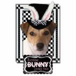 Pascua - algún conejito le ama - Jack Russell Escultura Fotográfica