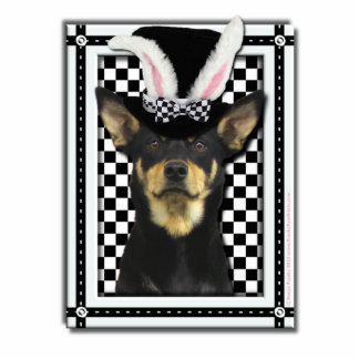 Pascua - algún conejito le ama - Kelpie Fotoescultura Vertical