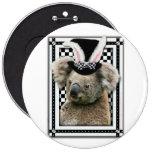 Pascua - algún conejito le ama - koala pin