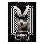 Pascua algún conejito le ama perro australiano del felicitación