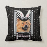 Pascua - algún conejito le ama - perro chino de pe almohada