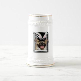 Pascua - algún conejito le ama - Pitbull Taza De Café