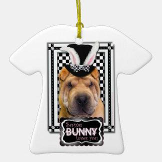 Pascua - algún conejito le ama - Shar Pei