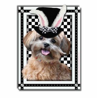 Pascua - algún conejito le ama - ShihPoo Fotoescultura Vertical