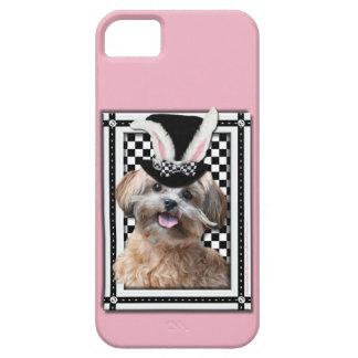 Pascua - algún conejito le ama - ShihPoo Funda Para iPhone 5 Barely There