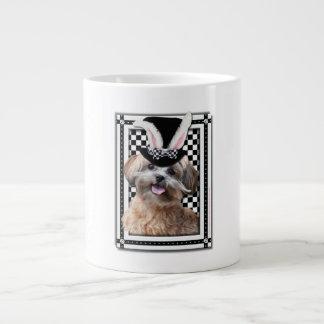 Pascua - algún conejito le ama - ShihPoo Taza Grande