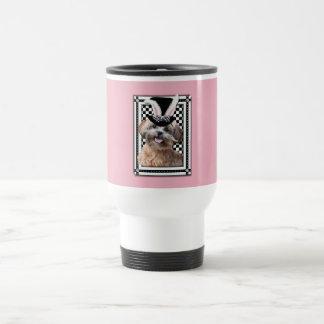 Pascua - algún conejito le ama - ShihPoo Taza Térmica