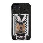 Pascua - algún conejito le ama - Terrier australia iPhone 4 Funda