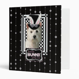 Pascua - algún conejito le ama - Westie