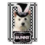Pascua - algún conejito le ama - Westie Escultura Fotografica