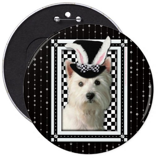 Pascua - algún conejito le ama - Westie Pin
