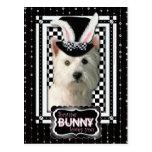 Pascua - algún conejito le ama - Westie Postal