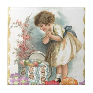 Pascua Azulejo Cuadrado Pequeño
