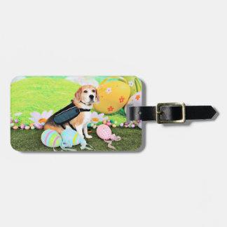 Pascua - beagle - Brady Etiquetas Bolsa