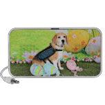 Pascua - beagle - Brady iPod Altavoz