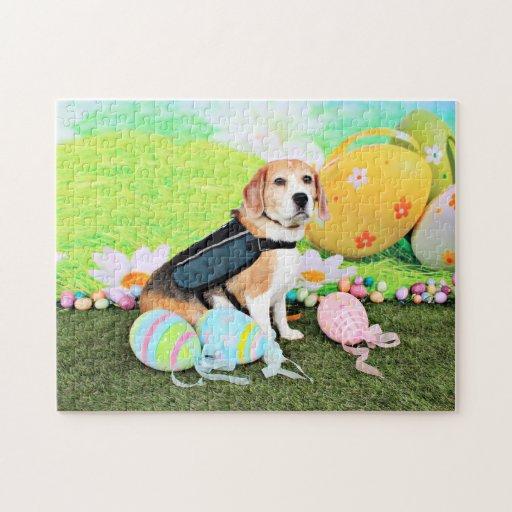 Pascua - beagle - Brady Rompecabezas Con Fotos