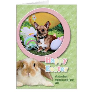 Pascua - Chipin Rockwell - Mahne Tarjeta De Felicitación