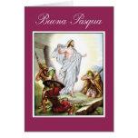 Pascua cristiana italiana, Jesús Buona Pasqua Tarjeta De Felicitación