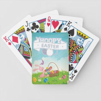 Pascua de lúpulo barajas de cartas
