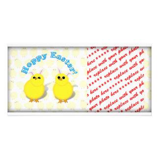 ¡PASCUA DE LÚPULO!  Oídos de los polluelos w/Bunny Tarjetas Personales