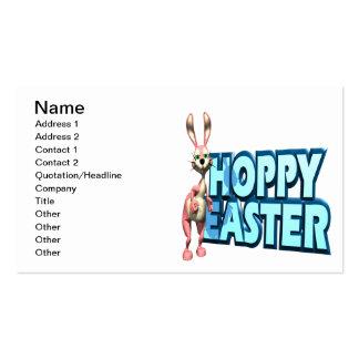 Pascua de lúpulo tarjetas de visita