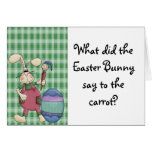 Pascua divertida tarjetas
