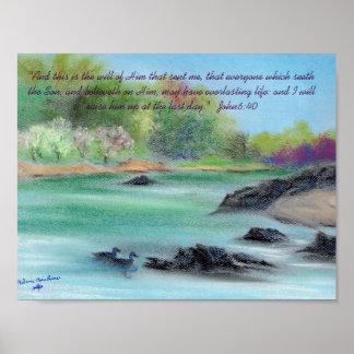 Pascua en el río de Swannee Póster