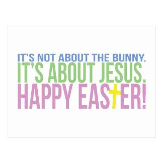 Pascua está sobre Jesús Postales