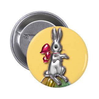 Pascua feliz #1 pin redondo 5 cm