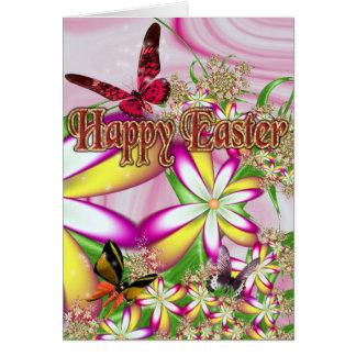 Pascua feliz # 1 tarjeta de felicitación