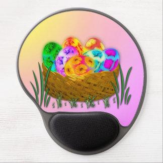 Pascua feliz #2 alfombrillas de ratón con gel