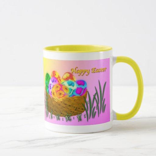 Pascua feliz #2 taza