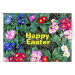 Pascua feliz 4 tarjeta de felicitación