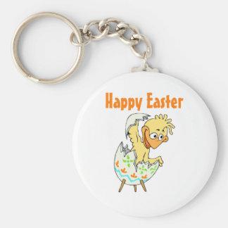 Pascua feliz (5) llavero redondo tipo pin