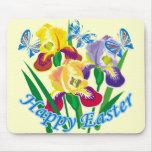 Pascua feliz 6 alfombrillas de ratones