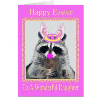 Pascua feliz a la tarjeta de felicitación de la hi